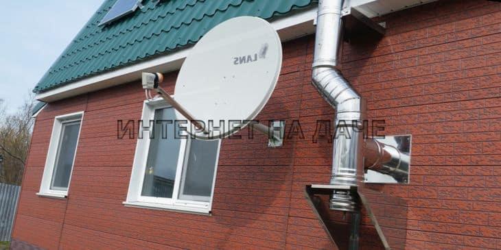 Подключение интернета на дачу в деревне Новая фото