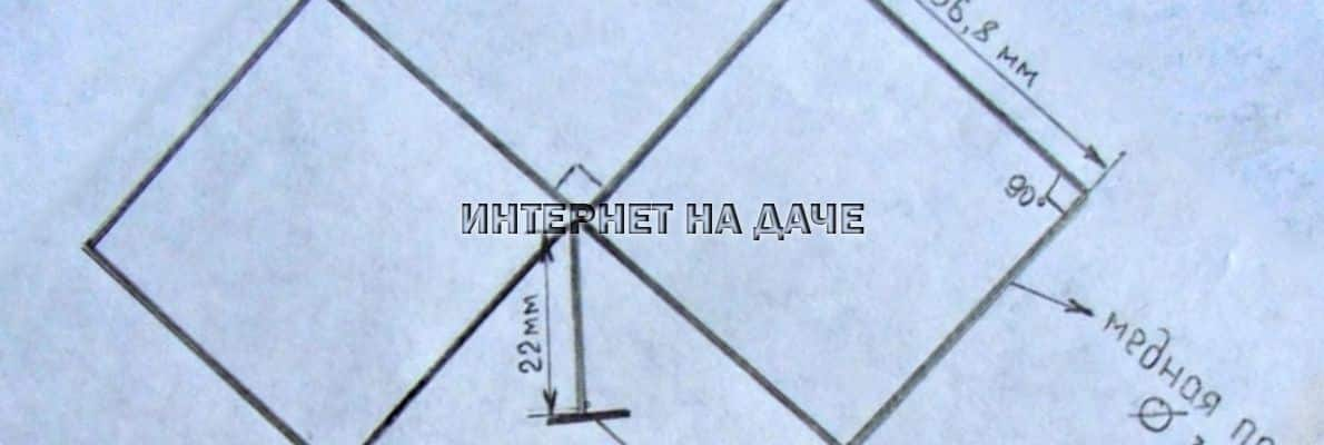 3G антенна для усиления интернета своими руками: расчеты и чертежи фото