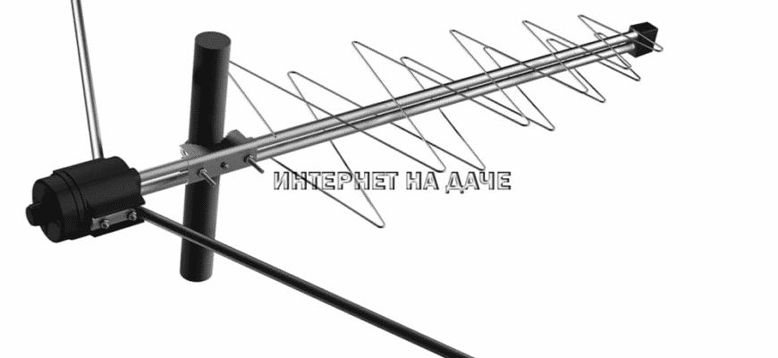 Антенна «Дельта» для цифрового телевидения фото