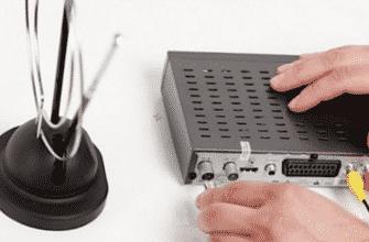 Как подключить антенну к телевизору для цифрового телевидения фото