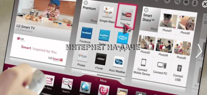 Как выйти в интернет на телевизоре LG: подключение и настройка фото