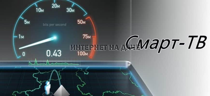 Какая скорость интернета нужна для Смарт ТВ фото
