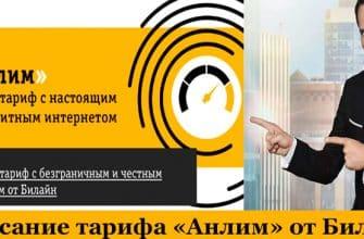 Безлимитный интернет в тарифе Анлим от Билайн: описание и стоимость фото