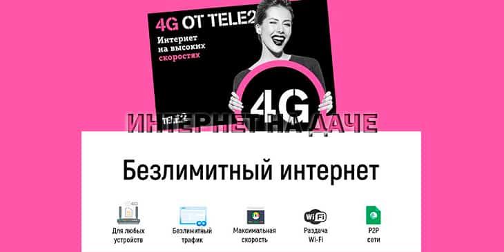 Как подключить мобильный интернет на Теле2: тарифы и активация фото
